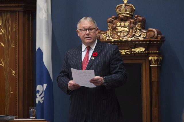 Jacques Chagnon... (Photo Jacques Boissinot, La Presse Canadienne)