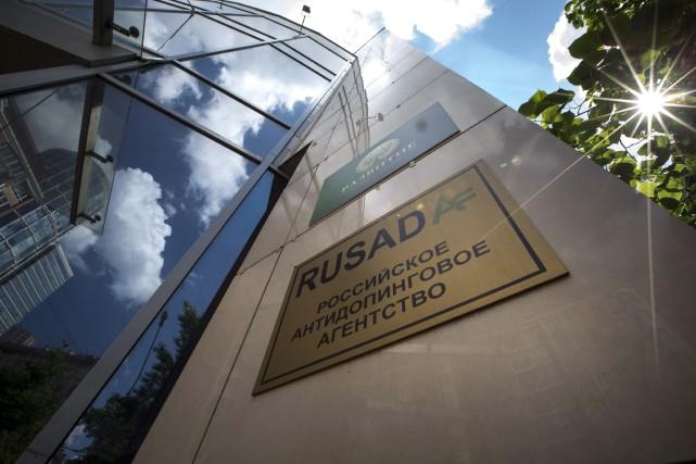 L'agence Rusada avait été suspendue en novembre 2015,... (ARCHIVES AP)
