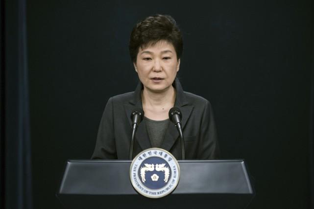 La président déchue de la Corée du Sud,... (PHOTO ARCHIVES AP)
