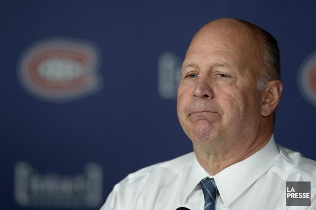 L'entraîneur-chef du Canadien, Claude Julien.... (Photo Bernard Brault, La Presse)