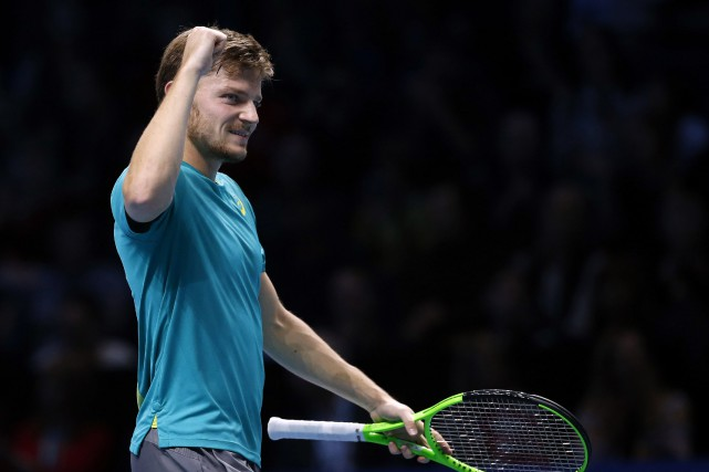 David Goffin... (Photo Alastair Grant, AP)