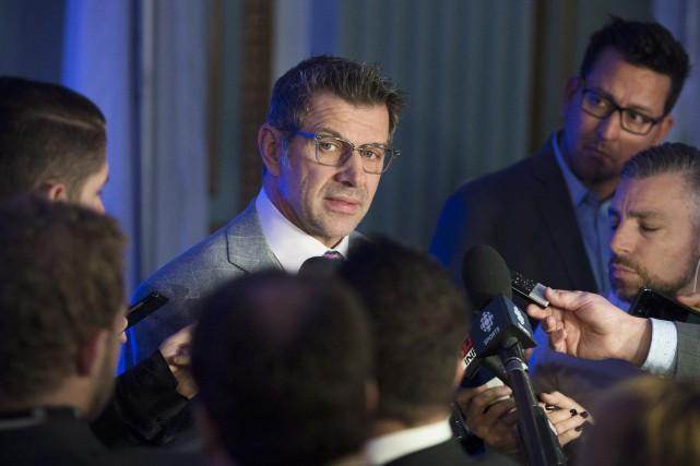 Le directeur général du Canadien, Marc Bergevin, a... (Photo Graham Hughes, PC)