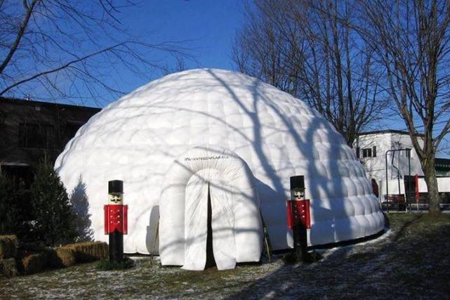 La particularité du marché de Noël de Sutton:les... (Photo fournie par la Corporation de développement économique de Sutton)