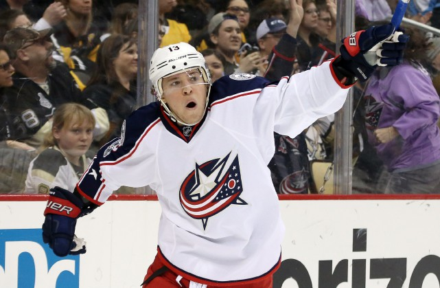 Cam Atkinson... (Photo Charles LeClaire, USA Today Sports)