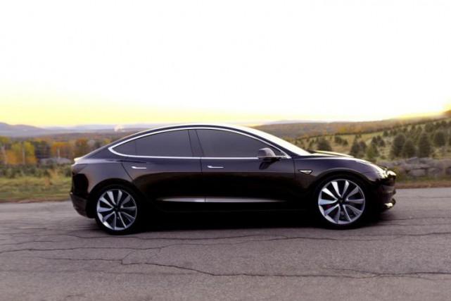 Le Modèle 3 de Tesla... (PHOTO TESLA)