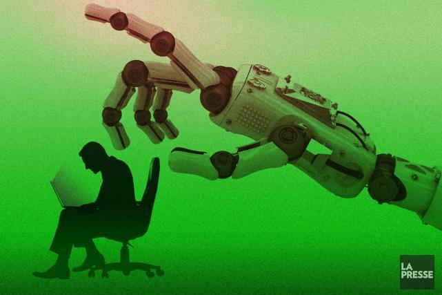 L'engouement des jeunes pour la robotique et les progrès fulgurants en... (ILLUSTRATION LA PRESSE)
