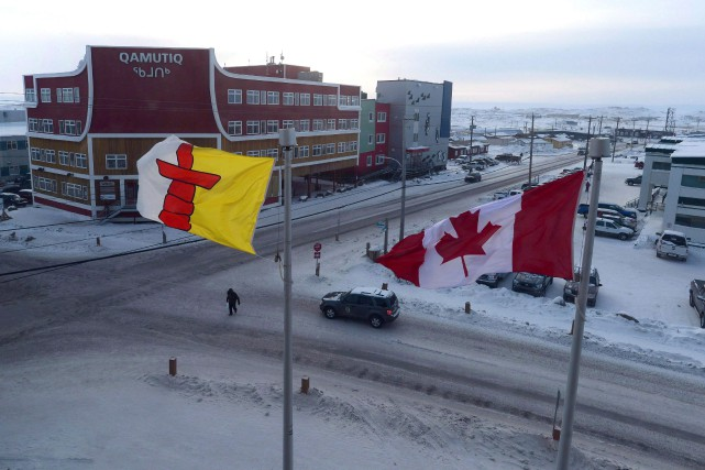 Iqaluit, au Nunavut.... (Photo La Presse canadienne)