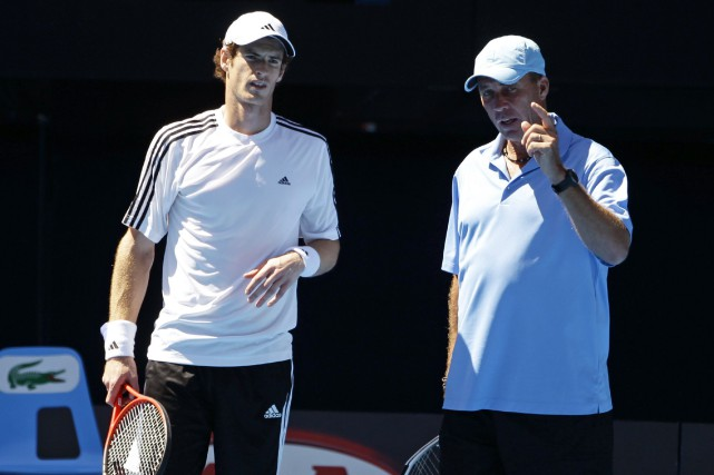 Andy Murray et Ivan Lendl... (PHOTO ARCHIVES AP)