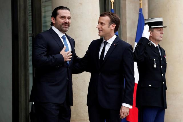 Le premier ministre libanais démissionnaire Saad Hariri a... (PHOTO BENOIT TESSIER, REUTERS)