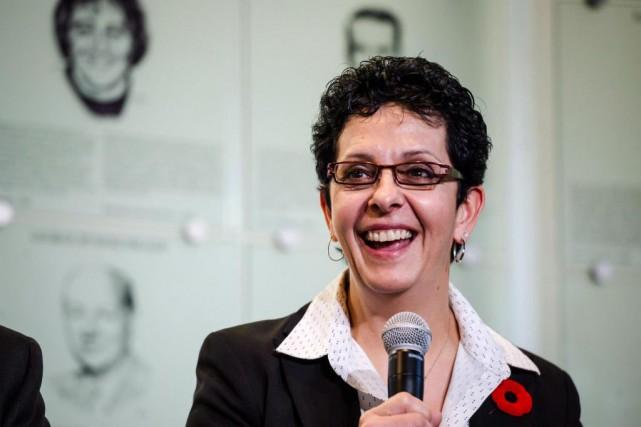 Danielle Goyette est la cinquième femme et la... (PHOTO CHRISTOPHER KEENAN, LA PRESSE CANADIENNE)