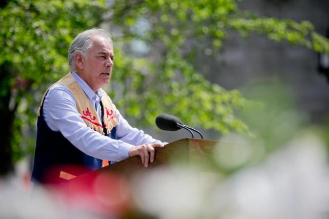 Ghislain Picard, chef de l'Assemblée des Premières Nations... (PHOTO DAVID BOILY, ARCHIVES LA PRESSE)