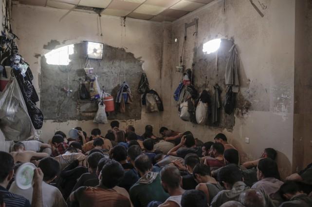 L'avenir des djihadistes capturés ainsi que de leurs... (AP)