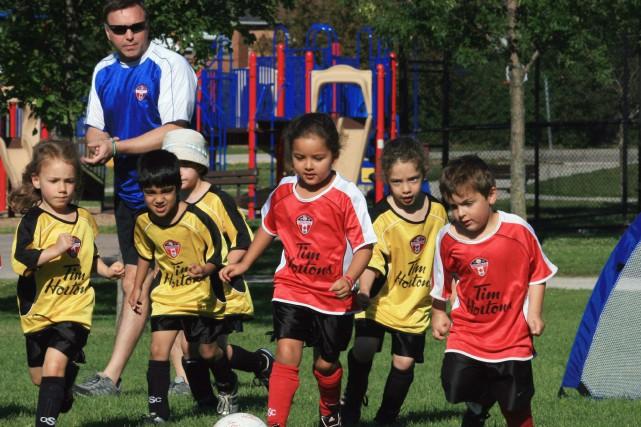Les enfants âgés de un à quatre ans... (Photo archives La Presse Canadienne)