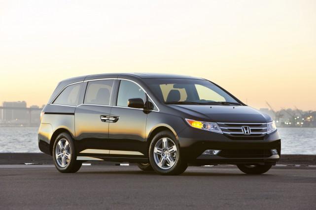 Le Honda Odyssey 2011. Cette fourgonnette fait l'objet... (Photo HONDA)