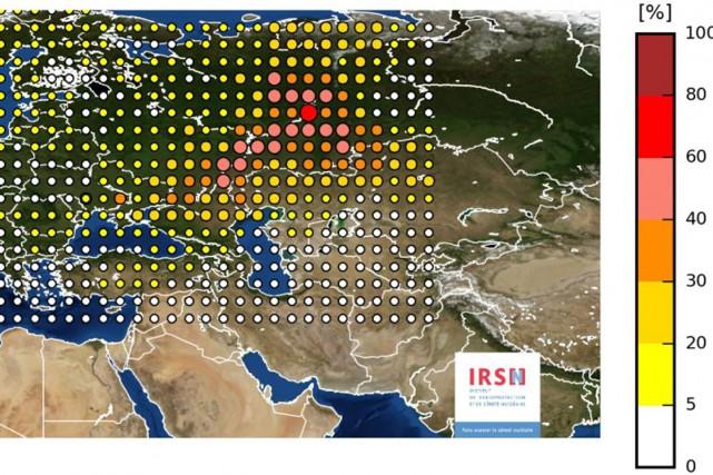 L'institut de radioprotection et de sûreté nucléaire français... (AP)