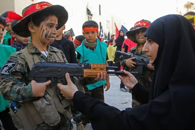 La Ligue arabe a accusé le Hezbollah «de... (Photo archives AFP)
