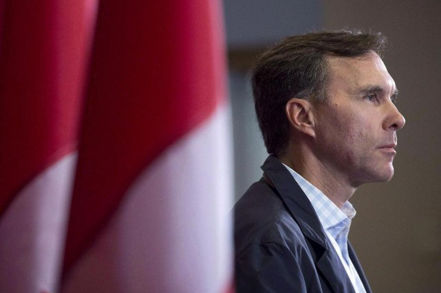 Bill Morneau, ministre des Finances... (Photo Andrew Vaughan, archives La Presse canadienne)