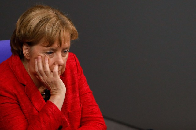 Angela Merkel... (AFP)