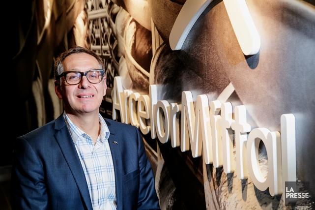 Pierre Lapointe, PDG ArcelorMittal... (PHOTO ALAIN ROBERGE, LA PRESSE)