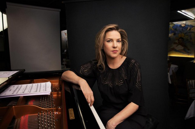 La chanteuse Diana Krall donne un concert ce soir au... (PHOTO JESSE DITTMAN, ARCHIVES THE NEW YORK TIMES)