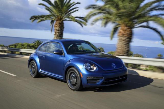 La Volkswagen Beetle... (PHOTO VOLKSWAGEN)