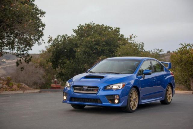 La Subaru WRX STI pourrait bientôt être offerte... (PHOTO SUBARU)