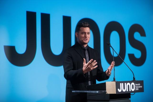 Michael Bublé animera pour une quatrième fois le... (Photo La Presse Canadienne)