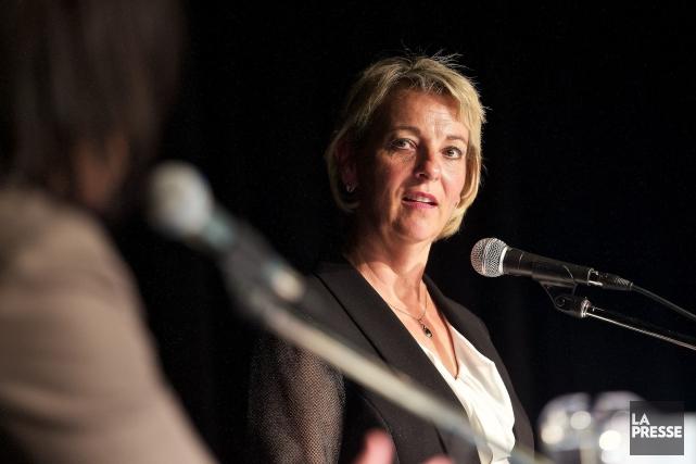 La nouvelle mairesse de Longueuil, Sylvie Parent... (PHOTO ANDRÉ PICHETTE, ARCHIVES LA PRESSE)