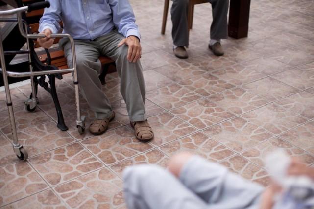 Le sous-ministre Michel Fontaine rappelle aux dirigeants du... (photoBartek Sadowski, archives Bloomberg)