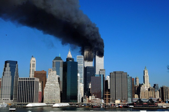 Les attaques contre les tours du World Trade... (PHOTO HENNY RAY ABRAMS, ARCHIVES AFP)