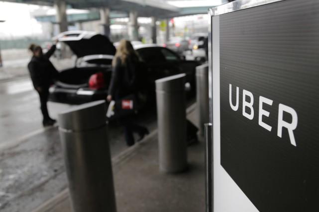 Uber Canada indique sur son blogue que les... (Photo archives AP)