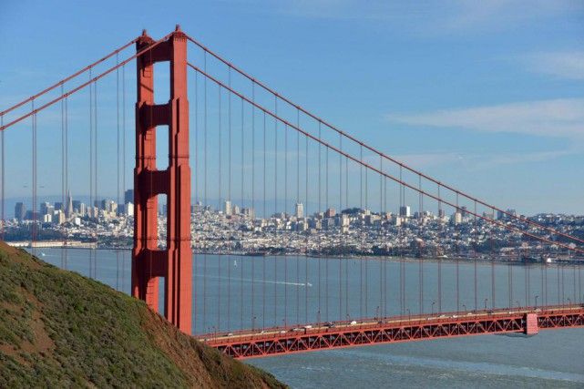 Vue du Golden Gate, à San Francisco... (Photo Kirby Lee, archives USA Today sports)