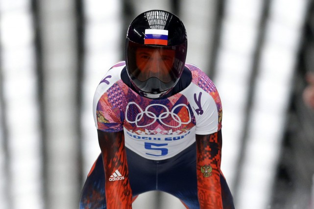 Le Russe Alexander Tretyakov avait remporté la médaille... (Photo Natacha Pisarenko, archives AP)