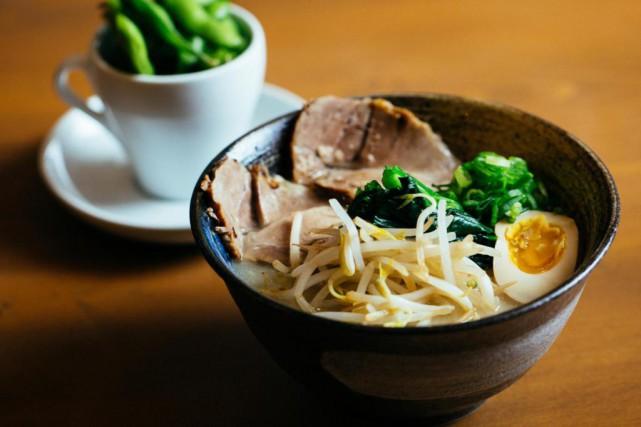 Le nouveau Tsukuyomi propose de délicieux ramen.... (PHOTO FOURNIE PAR TSUKUYOMI)