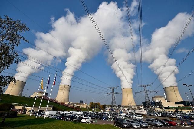 La centrale nucléaire de Cattenom, en France.... (JEAN-CHRISTOPHE VERHAEGEN, AFP)