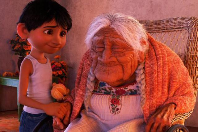 Coco, c'est l'arrière-grand-mère du petit Miguel. Celle-là même... (IMAGE FOURNIE PAR LA PRODUCTION)