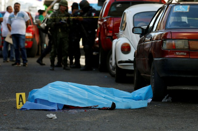 La violence criminelle a explosé au Mexique depuis... (PHOTO REUTERS)