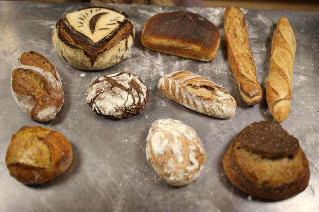 Le boulanger Bertrand Gaumet fait en sorte qu'on... (Photo Martin Chamberland, La Presse)