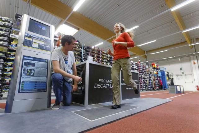 Le géant français du sport Decathlon s'installera à Québec dans le nouveau pôle... (Photo Decathlon)