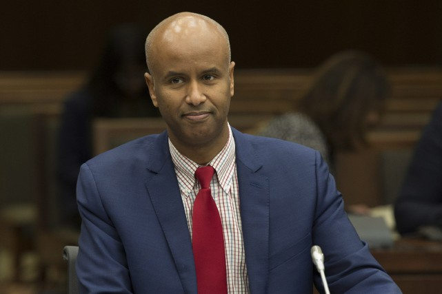 Le ministre fédéral de l'Immigration, Ahmed Hussen... (PHOTO Adrian Wyld, LA PRESSE CANADIENNE)