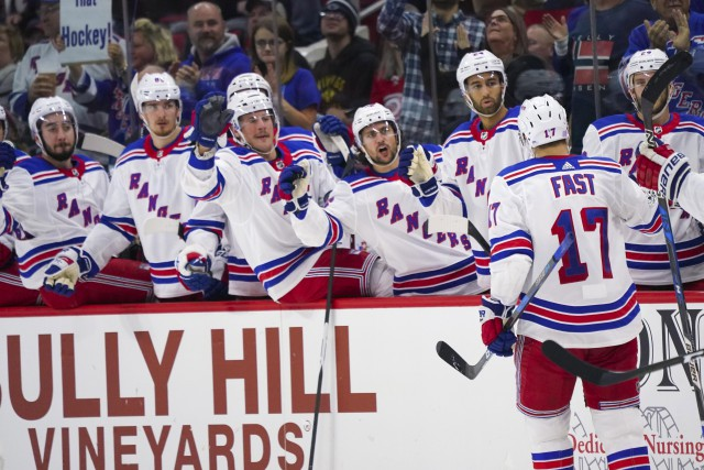 Jesper Fast a inscrit deux buts lors de... (PHOTO James Guillory, USA TODAY Sports)