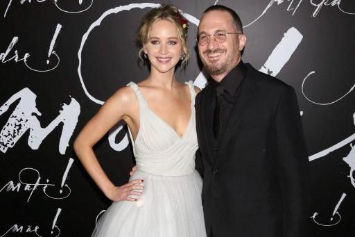 Jennifer Lawrence et Darren Aronofsky ne formeraient plus... (photo Greg Allen, associated press)