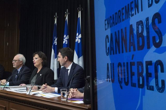 La ministre déléguée à la Santé publique, Lucie... (Jacques Boissinot, archives PC)