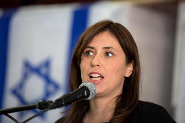 Coutumière des déclarations polémiques,Tzipi Hotovely appartient à une... (ARCHIVES AFP)