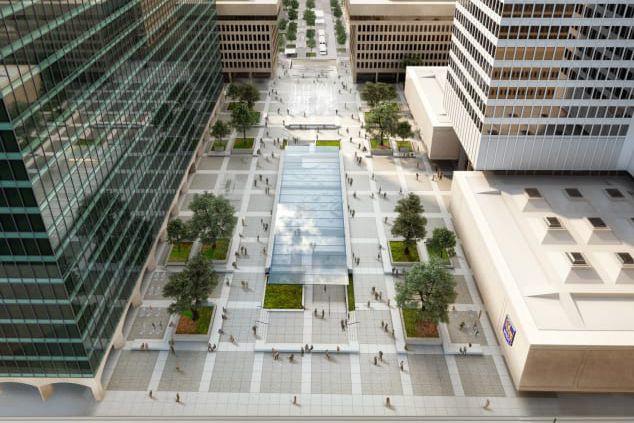 Une vue de la future Esplanade.... (Photo Sid Lee)