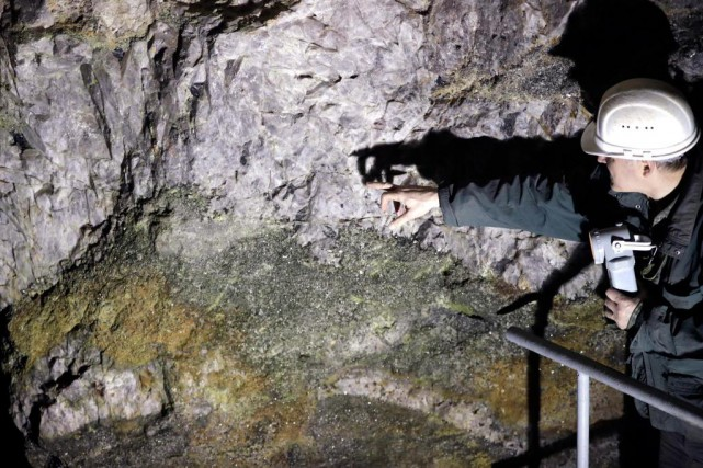 Les minéraux «intelligents» ou «technologiques» comme lelithium ont... (Photo Associated Press)