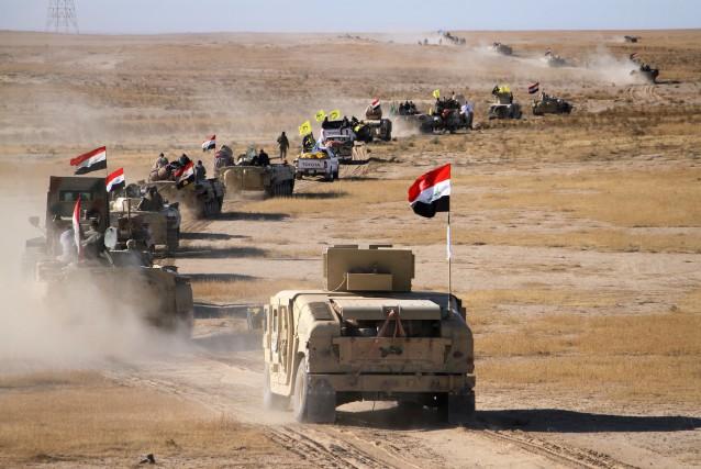 Jeudi matin, l'armée, la police fédérale et les... (PHOTO AFP)