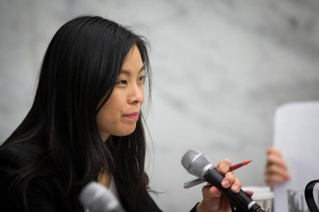 La conseillère CathyWong a été choisie par ValériePlante... (Photo Olivier PontBriand, La Presse)