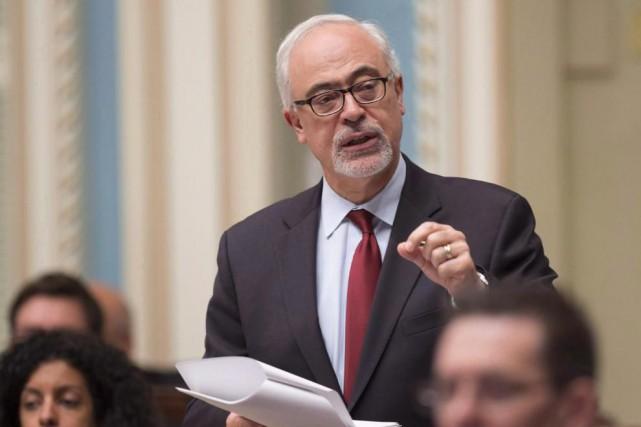 CarlosLeitão, ministre des Finances, a indiqué qu'il devait... (Photo Jacques Boissinot, Archives La Presse Canadienne)