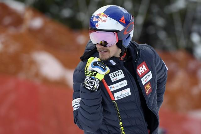 Erik Guay... (Photo Eric Bolte, USA TODAY Sports)